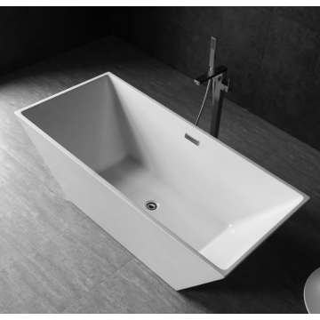 Rectangle Cheap Freestanding Acrylic Bathtub