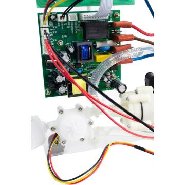 Target temperature electrical heating test module