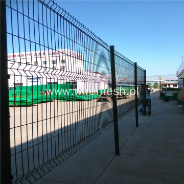 Commercial Galvanized steel Curved 3d Mesh Fence