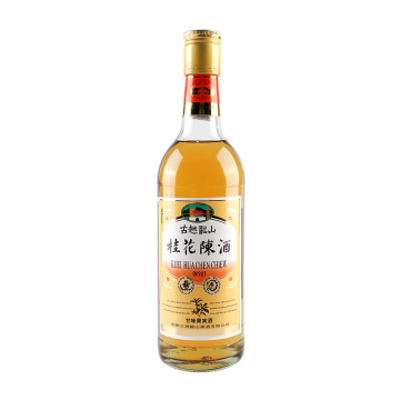Osmanthus-flavored Rice wine fruit wine