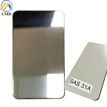 3MM Mirror Silver/Undercoat Aluminium Composite Panel