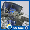 Aeration system Steel cone base small grain silos