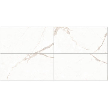 Large format square marble floor tiles