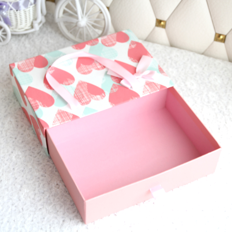 Small sliding drawer packaging box