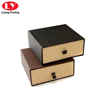 Cardboard Gift Box Drawer for Belt