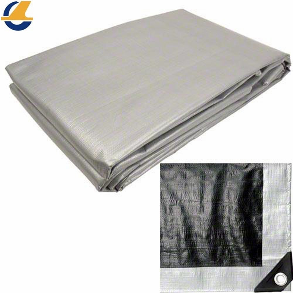 Poly tarps grey