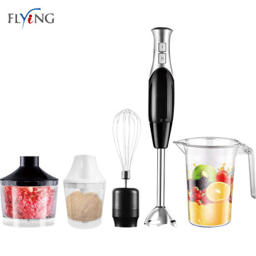 Black Stainless Steel Electric Hand Blender