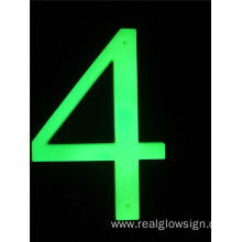 Realglow 3D Number 4
