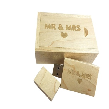 Wood USB 2.0 Flash Drive Memory Stick