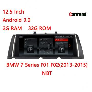 Dashboard Radio Don 7 Series F01 F02