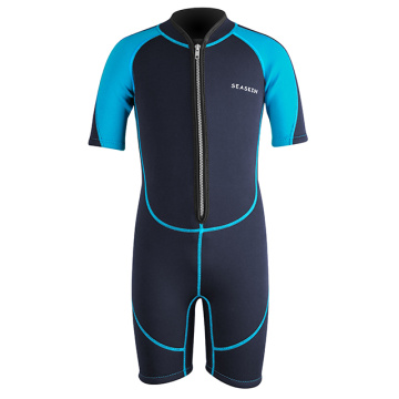 Seaskin Neoprene Suit Front Zip For Boys