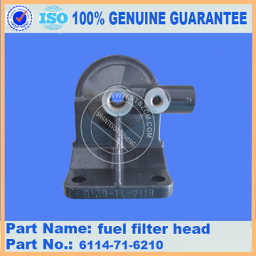 pc300-7/pc360-7/PC400-3/PC400-5 fuel filter head 6114-71-6210