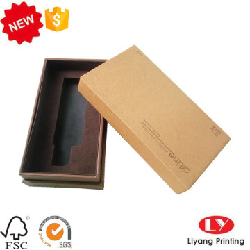 Special cardboard cosmetic packaging box with lid