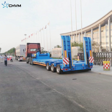 Heavy Duty Special Multi Axles Lowbed Trailer