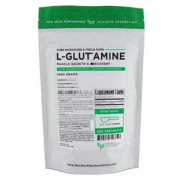how much l glutamine should take a day
