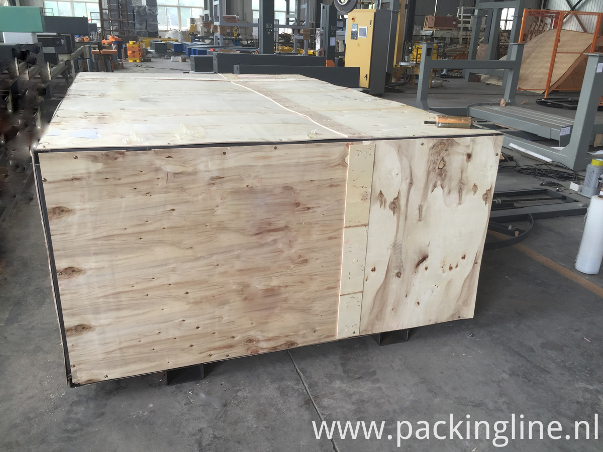 Carton Wrapping Machine WOODEN CASE