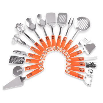 kitchen utensils stainless steel cooking tool set