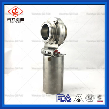 Food grade stainless steel clamp Pneumatic Valve
