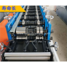 Automatic CZ purlin roll forming machines