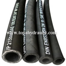 Discharge wire heat resistant stainless steel flexible hose