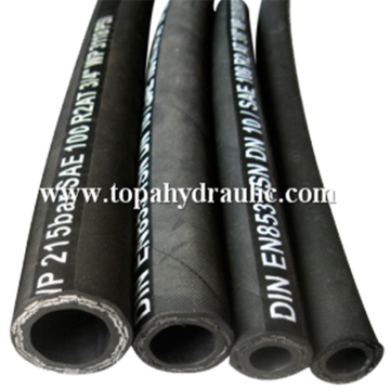 parker industrial high pressure plastic fuel rubber hose