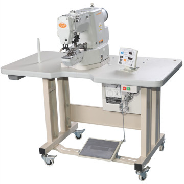 automatic button attaching machine