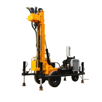 200 meters Full Hydraulic Water Well Drilling Rig