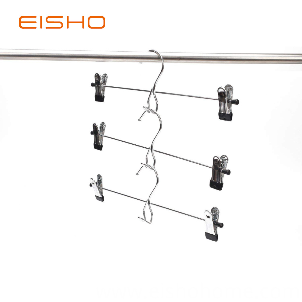 Factory Supplier Metal Clips Hanger For Pants2