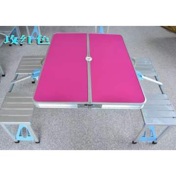 MDF platform aluminum folding table