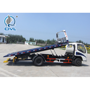 Flatbed Wrecker Carrier  Road Rescue Vehicle