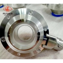 Stainless Steel Sanitary Butterfly Ball Valve