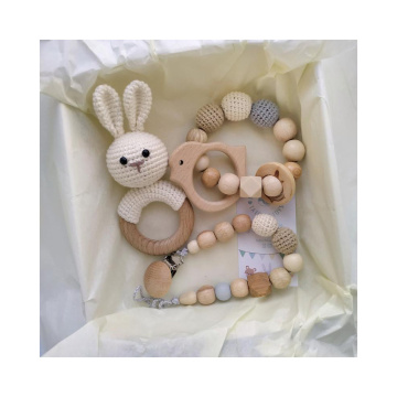 New Born Baby Teether And Rattle