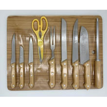 10pcs knife board set