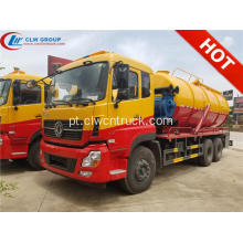 2019 Novo Dongfeng 18000litres Waste Water Truck Sucção
