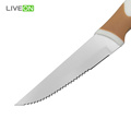 Plastic Hanlde Non Stick Steak Knife
