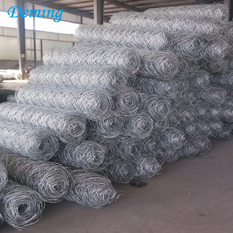 Factory Supply Zinc Aluminum Gabion Wire Mesh Boxes