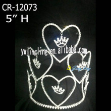 Heart Love Valentine's Day Crowns For Girl
