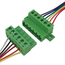 28-12AWG fixed on the panel 5.08mm terminal block