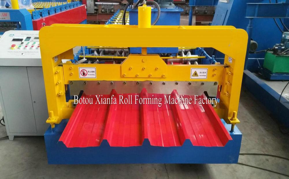 IBR Color Metal Roof And Wall Sheet Cold Roll Forming Machine