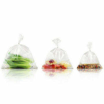 Plastic Produce Clear Bag Kitchen Bread Fruit Vegetable