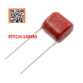 10pcs 630V 68NF 683J 100NF 0.1UF 104J 150NF 0.15UF 154J PITCH 10MM 630V Pitch 10mm 5% DIP CBB Polypropylene film capacitor