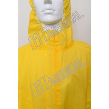 protective clothing security gown material