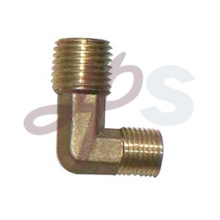Brass 90 degree male elbow pipe fitting