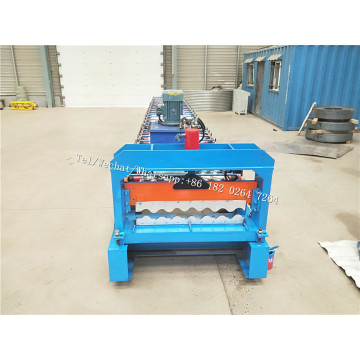 Customized CNC Corrugated PPGI Roof Tile Forming Machine