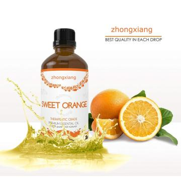 100% Pure Cold Pressed Sweet Orange Essential Oil