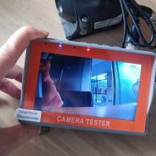 IV4 CCTV Tester Monitor CVBS camera testing CDD camera test for CCTV Security Monitoring Staff professional