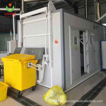 Hazardous Waste Treatment With Microwave Disinfection