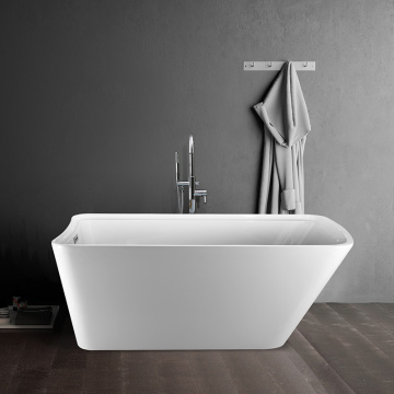 Modern Soaking Acrylic Small Deep Bathtub