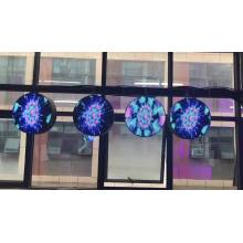 Remote control led circle display small led screen