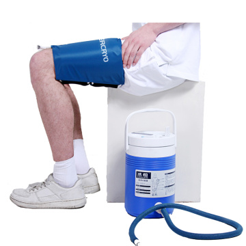 EVERCRYO Leg Cold Therapy System Cryo Cuff Cooler